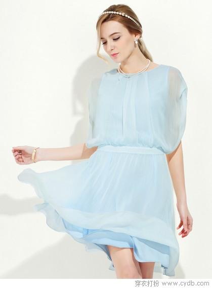 连衣裙夏款新款清凉风搭配
