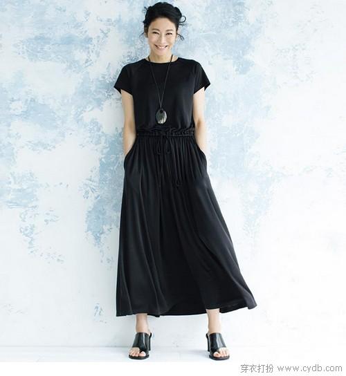 连衣裙经典款式9种搭配